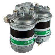 Фильтр топливный двухсекционный для двух и четырёхтактных двигателей с объёмом до 3,6 л производительность 60 л/час