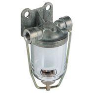Фильтр топливный для двух и четырёхтактных двигателей с объёмом до 3,00л(фильтрующий элемент нейлон)