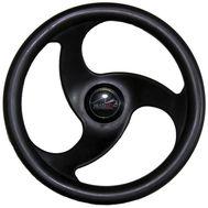 Рулевое колесо (LM-W-10) 280 мм. диаметр (чёрное)