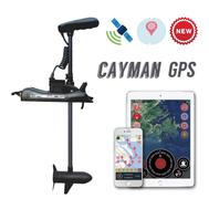 Троллинговый электромотор CaymanB (55 Lbs) c GPS