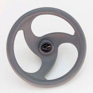 Рулевое колесо (LM-W-10) 280 мм. диаметр (серое)