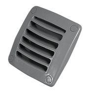 Решётка вентилляционная 92х92 мм (серая)