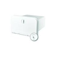 Ящик для магнитолы с ключом 250х250х140 мм (размер крышки 165х285 мм)