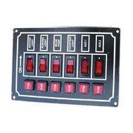 Панель электрическая с шестью переключателями (тип 2)
