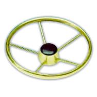 Рулевое колесо 400 мм. диаметр (нерж.)