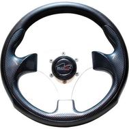 Рулевое колесо Zeta (LM-W-6) 300 мм. диаметр (чёрное)