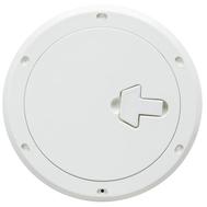 Люк инспекционный с замком диаметр 230 х 315 мм