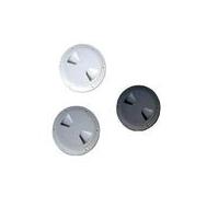 Смотровой люк пластиковый, серый (диам. 15 см.)