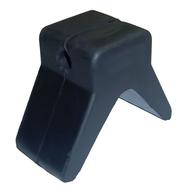 Упор трейлерный для форштевня катера (размеры осн. 100х50, д.о.11 мм)