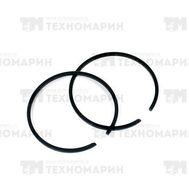 Поршневое кольцо Tohatsu (уп. 2 шт) +0,5 3G2-00014-0