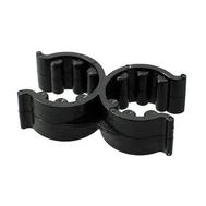 Кронштейн для трапов двойной 18/25 мм, пластмасса