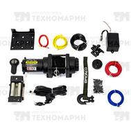 Лебедка для квадроцикла 3500 LBS Black Edition AC-12025