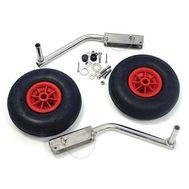 """Комплект колес транцевых удлиненных усиленных для НЛ типа """"Ротан"""" 330 мм"""
