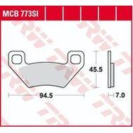 Колодки тормозные (серия Sinter Offroad) MCB773SI