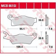 Колодки тормозные (серия Sinter Offroad) MCB861SI