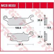 Колодки тормозные (серия Sinter Offroad) MCB803SI