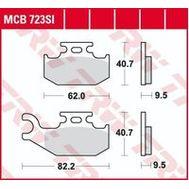 Колодки тормозные (серия Sinter Offroad) MCB723SI