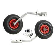 """Комплект колес транцевых откидных с защелкой для НЛ типа """"Ротан"""" усиленных 330 мм"""