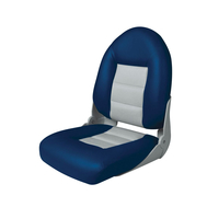 Сидение мягкое складное «Круиз» Серо-синее
