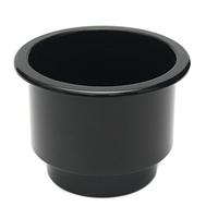 Подстаканник пластиковый чёрный 108Х80 мм