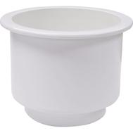 Подстаканник пластиковый белый 108Х80 мм