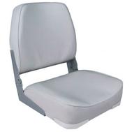 Кресло для лодок и катеров Classic серое (низкая спинка)