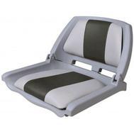 Кресло в лодку Folding - серый/угольный