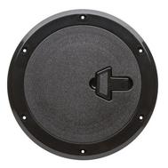 Люк инспекционный с замком диам 230х315 мм (чёрн)