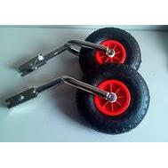 Транцевые колеса. Усиленные (со сдвоенной вилкой)
