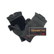 Перчатки с открывающимися пальцами(темно-серые)
