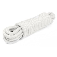 Шнур плетеный ШВАРТОВЫЙ 12,0 мм, бел./черн., 2100 кг, 9 м, евромоток