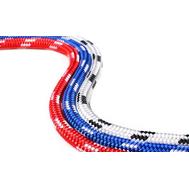 Шнур ЯХТЕННЫЙ  6 мм, красно-белый, 750 кгс, 100 м, бухта