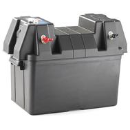 Ящик для аккумуляторной батареи 195х205х295 с индикатором заряда