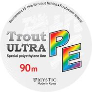 Шнур PE MYSTIC Trout ULTRA 90m (0,09/3,8)