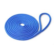 Шнур плетеный ШВАРТОВЫЙ 16,0 мм, 3200 кг, 6  м, с огоном 30 см