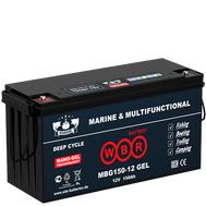 Аккумулятор WBR Marine MBG 150-12 GEL - 150 A/ч