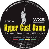 Шнур PE Mystic Hyper Cast Game 200m (0,12/5,6)