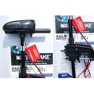Электрический троллинговый мотор T24-FW, цвет: чёрный