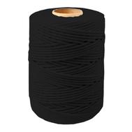 Шнур плетеный СТАНДАРТ 2,5 мм (500 м) черный, евробобина
