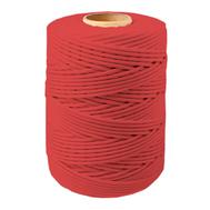 Шнур плетеный СТАНДАРТ 2,0 мм (500 м) красный, евробобина
