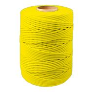 Шнур плетеный СТАНДАРТ 2,5 мм (500 м) желтый, евробобина