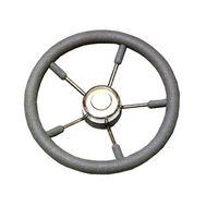 Рулевое колесо 350 мм. диаметр (серое)
