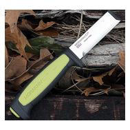 Нож Morakniv Chisel - Carbon - длина / толщина лезвия, мм: 75 / 3,1