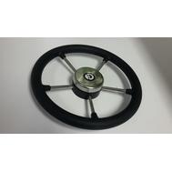 Рулевое колесо 325 мм. диаметр (черное)