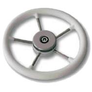 Рулевое колесо 325 мм. диаметр (серое)
