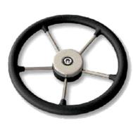 Рулевое колесо 350 мм. диаметр (чёрное)