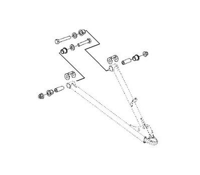 Комплект втулок для нижних рычагов (SM-08256, SM-08257) BRP SM-08262 - фото
