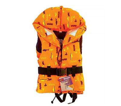 Жилет 100N FREEDOM оранжевый с рисунком 20-30 кг - фото