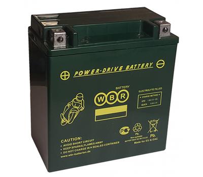 Аккумулятор гелевый MTG 12-14-A-GEL (YTX14-BS) - фото