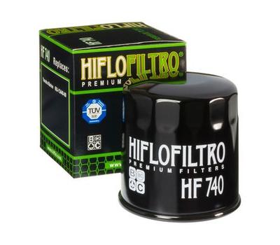 Масляный фильтр Yamaha 69J-13440-01 HifloFiltro HF740 - фото
